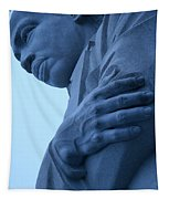 A Blue Martin Luther King - 2 Tapestry