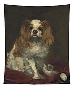 A King Charles Spaniel Tapestry