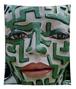 A Maze Ing Face 2 Tapestry