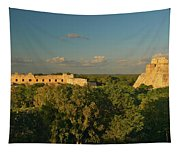A Panoramic View From Left To Right Tapestry
