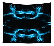 Abstract In Blue Tapestry