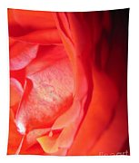 Abstract Orange Rose 10 Tapestry