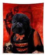 Affenpinscher Art By Nobility Dogs Tapestry