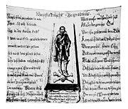 Albrecht Von Wallenstein (1583-1634) Tapestry