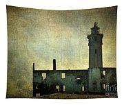 Alcatraz Island Lighthouse Tapestry