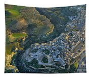 Alhama De Granada From The Air Tapestry