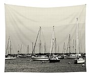 All Aboard Bw Tapestry