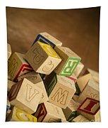 Alphabet Blocks Tapestry