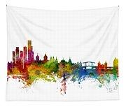Amsterdam The Netherlands Skyline Tapestry