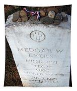 Medgar Evers -- An Assassinated Veteran Tapestry