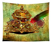Antique Inkwell Tapestry