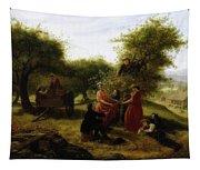 Apple Gathering Tapestry