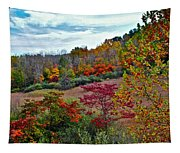 Autumn In Full Bloom Tapestry