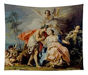 Bacchus And Ariadne Tapestry