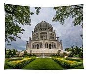 Baha'i House Of Worship Tapestry