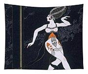 Ballet Scene With Tamara Karsavina Tapestry