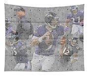 Baltimore Ravens Team Tapestry