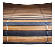 Bamboo Mat Texture Tapestry