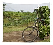 Banana Bike Tapestry