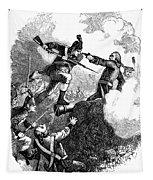 Battle Of Stony Point, 1779 Tapestry