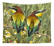 Bee-eaters Tapestry