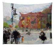 Berlin Alexanderplatz Tapestry
