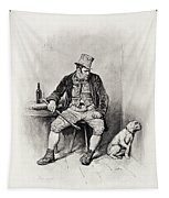 Bill Sykes And His Dog, From Charles Tapestry