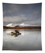 Black Mount And Lochan Na H-achlaise Tapestry