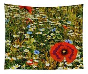 Blossoming Meadow Tapestry