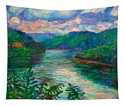 Bluestone Lake Tapestry