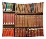 Bookshelves Tapestry