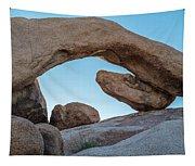 Boulders In A Desert, Joshua Tree Tapestry