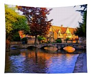 Bourton On The Water Tapestry