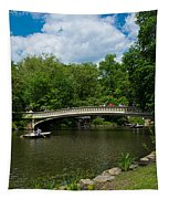 Bow Bridge Central Park Tapestry