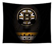 Bruins Jersey Mask Tapestry