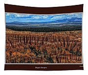 Bryce Canyon II Tapestry