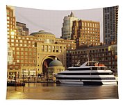 Buildings At The Waterfront, Boston Tapestry