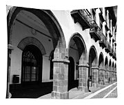 Buildings In Ponta Delgada Tapestry
