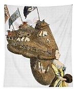 Bunker Hill: Cartoon, 1776 Tapestry