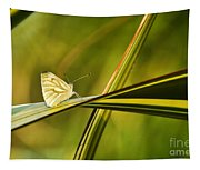 Cabbage Butterfly Tapestry