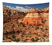 Calf Creek Canyon Red Rocks Tapestry