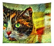 Calico Kitty Tapestry