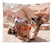 Sitting Camel Tapestry