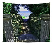 Cana Island Walkway Wi Tapestry