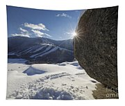 Cannon Mountain - White Mountains New Hampshire Tapestry