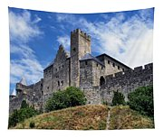 Carcassonne By Day Tapestry