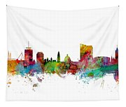 Cardiff Wales Skyline Tapestry