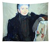 Cassatt's Portrait Of An Elderly Lady Tapestry