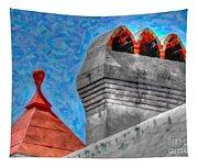 Charleston Rooftop Tapestry