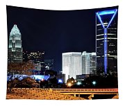 Charlotte Towers Tapestry